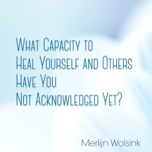 Merlijn Wolsink Healing Capacities Magic Pain