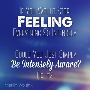 Merlijn Wolsink - Feeling - Awareness