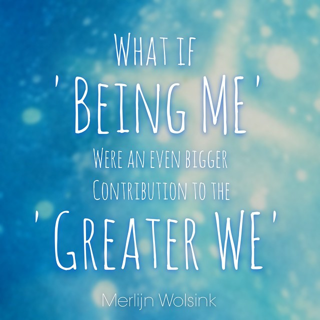 Merlijn Wolsink - Being Me - Greater We