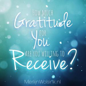 Merlijn Wolsink - How much gratitude are you willing to receive