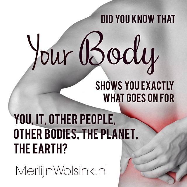 Merlijn Wolsink - Your body shows you